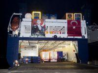 Zafer Bayramı'nda kalkan geminin hasılatı, 15 Temmuz Şehit ailelerine bağışlandı