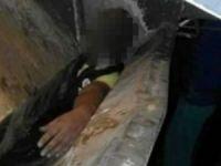 Fas'ta Muhsin Fikri isimli balıkçı çöp kamyonu presinde can verdi