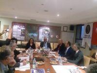 TURMEPA Türkiye Denizcilik Federasyonu'nu ziyaret etti