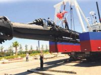 Mogan Gölü temizlik projesinin ilk gemisi Gölbaşı'na ulaştı