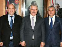 GESAD Başkanı Ziya Gökalp, Bakan Ahmet Arslan'ı ziyaret etti