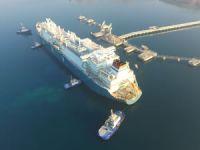 Türkiye'nin ilk yüzen LNG Depolama ve Gazlaştırma Terminali törenle hizmete giriyor