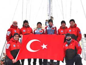 Kuzey Kutbu'na ilk Türk bilimsel seferi gerçekleştirildi