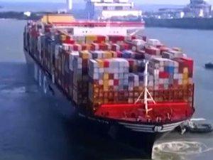 Gülsün Soyuer'in adı en büyük konteyner gemisine verildi