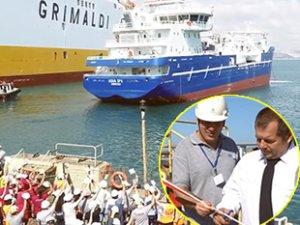 Sefine Tersanesi, 'Aqua Spa' isimli gemiyi teslim etti