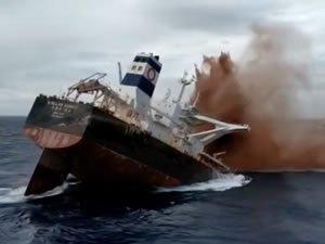 Dökme yük gemisi 'Stellar Banner' batırıldı