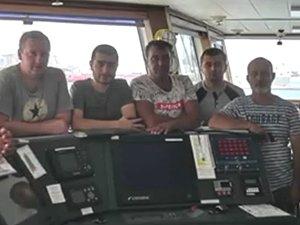 Palmali'ye ait geminin mürettebatı isyan etti
