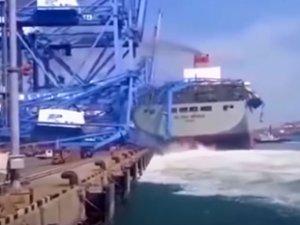 Deniz kazalarına karışan gemilerin görüntüleri dikkat çekti