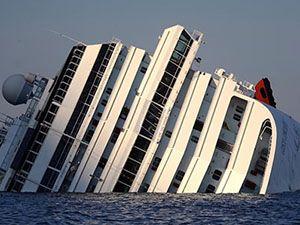 Costa Concordia'nın içi görüntülendi