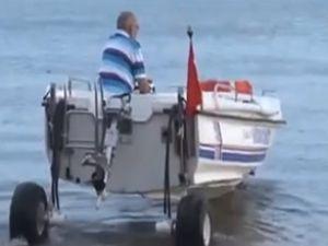 Türk İcadı Karada ve Denizde Giden Tekne