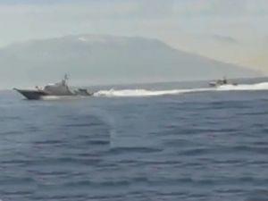 Sahil Güvenlik botları Ege'de boy gösterdi